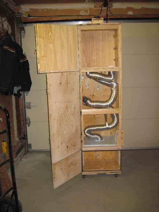 Ящик для коптильни холодного копчения